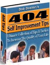 "Bob Bastian's - ""404 Self Improvement Tips"" Ebook + MASTER Reprint Rights!"