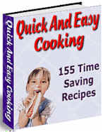 Quick and Easy Cooking [recipes ebook]
