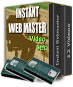 Instant Web Master Video Set [Total Beginner to a capable ... Webmaster in Minutes!